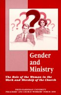 Gender and Ministry book cover