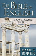 The Bible in English book cover